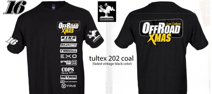 Limited Edition Offroad Xmas Tshirts