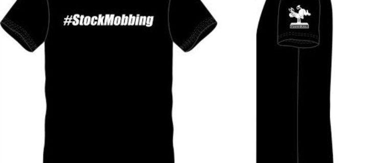 Stock Mobbing T-Shirt ( Black )